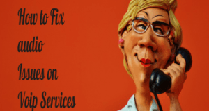 how to fix audio issues on Voip services