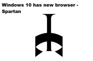 New browser in Windows 10