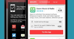 mCent - Top free recharge app for Android
