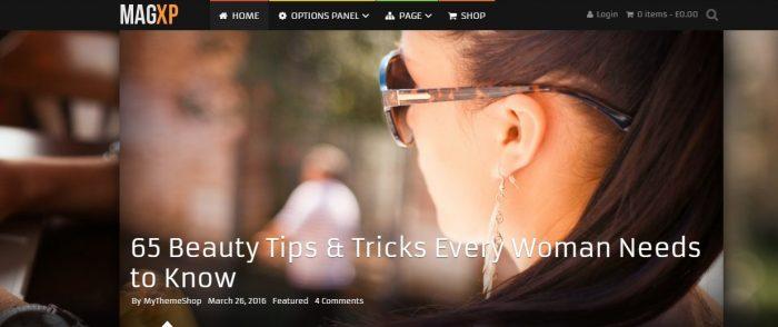 Magxp WordPress Theme