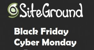 Siteground Black friday discount