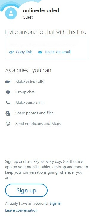 use-skype-without-an-account-available-options
