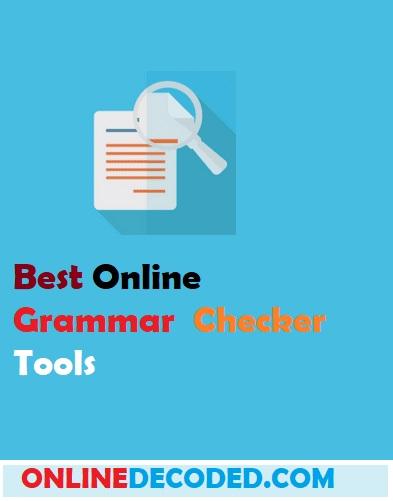 Best Free Online Grammar Checker