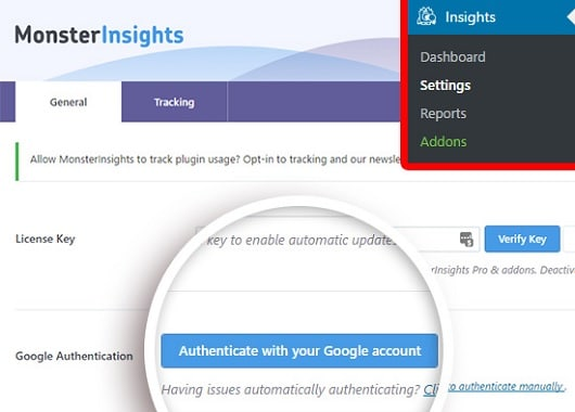 MonsterInsights-Authentication-with-Google